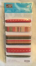 NEW Stampin' Up! Ribbon Originals - Rustic Retreat -  5 Styles - 2 Yds. Each