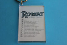 Robert - Meaning Famous Keyring Keychain