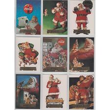 Coca Cola Coke Collect A Card Series 2 Santa Set of 10 S11 - S20 Foil Stamp