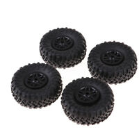 4pcs 1/12 RC  Racing Car Rubber Tires Tyres & Wheels For D90 MN90 MN91