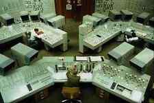 730053 Control Room Hinkley Point Nuclear Power Station B England A4 Photo Print