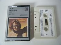 JOE WALSH SO WHAT CASSETTE TAPE EAGLES 1974 WHITE PAPER LABEL ABC ANCHOR