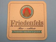 Germany Beer COASTER  Schlossbrauerei Friedenfels Bier 2003 Jubilaums  ~ GERMANY