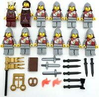 LEGO 8 NEW ATLANTEAN GUARD MINIFIGURES TRIDENTS KNIGHTS FIGURES JUSTICE LEAGUE