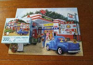 Bits & Pieces Frank's Friendly Service 300 Lg Pieces 18' 'x 24''Jigsaw Puzzle