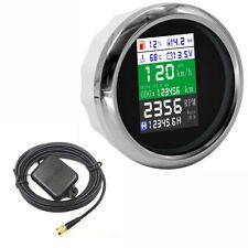 """3.35"""" Multifunction Gauge Odometer Speedometer Tachometer Oil Pressure Voltmeter"""