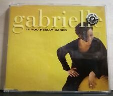 GABRIELLE - IF YOU REALLY CARED radio edit - BABY I'VE CHANGED 3 track version