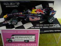 1/43 Minichamps Renault RB6 Red Bull Racing S. Vettel Abu Dhabi World Cham. 2010