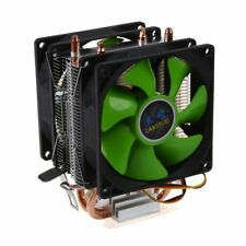 Dual Fan CPU Cooler Silent Fan for Intel LGA775 1156/1155 AMD AM2 AM2 + AM3 ED