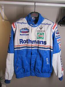 Formula 1 Racing Jacket Williams Rothmans Renault 1997 Jacques Villeneuve
