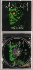 W.A.S.P.: THE STING CD LIVE AT THE KEY CLUB BLACKIE LAWLESS WASP JEWEL CASE