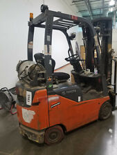 2010 Toyota 3000 Lb Lpg  Forklift Side Shift 8Fgcu15