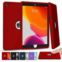 """iPad 7th Generation 10.2"""" 2019 Heavy Duty Shockproof  Silicone Case Cover"""