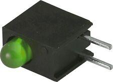 Lot of 15 3mm Right Angle Green LED Indicators