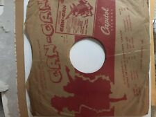 78 rpm ORIGINAL RECORD SLEEVE   Capitol  1953 Cole Porter Era  Can Can   VG