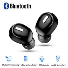Mini 5.0 Earbuds Bluetooth Wireless Headset Earphone HiFi Mic Sports Accessories