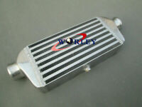 280x130x50mm 2.2'' 56mm Inlet/Outlet Aluminum Intercooler Turbo FMIC Delta & Fin