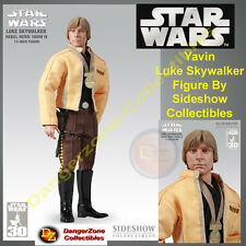 Star Wars Yavin Luke Skywalker Figure by Sideshow Collectibles - NEW