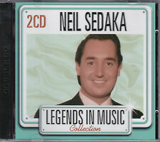 2 CD NEIL SEDAKA 24T BEST LEGENDS IN MUSIC COLLECTION 2007