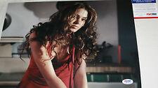 TWILIGHT Nikki Reed signed 11 x 14, Rosalie Hale, Breaking Dawn, PSA/DNA