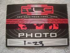 "TLC ""Photo"" Backstage Pass"
