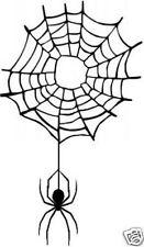 Spinnennetz  Aufkleber Sticker  m366