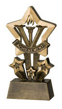 Achievement Star Resin Trophy FREE ENGRAVING