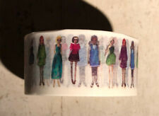 Washi Tape ~  Fashion Women Ladies standing posing 2.50cm
