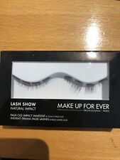 Make Up For Ever Lash Show Natural Impact N-201 New In Box As Pictured