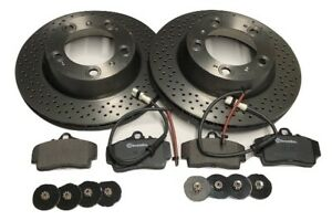Porsche Boxster 986 3.2S Rear brake kit / package (Brembo discs and pads)
