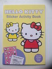 Libro de actividad Hello Kitty Pegatina