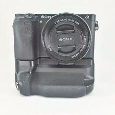 Sony fotocamera digitale a6300 con obiettivo 16-50 e Battery grip