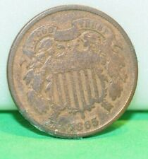 1865 US 2 Cent Type Coin