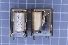 Relais Nr437 Zettler AZ420-70-4 12 VDC  2 Wechsler 700 Ohm