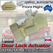 Door Lock Actuator Toyota Echo Scion xB Front Right Side 2000-2005 69110-52010