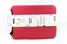 NEW GENUINE Dell 10.2 Reversible Red + Black Netbook Sleeve 4C3FV   inc VAT UK