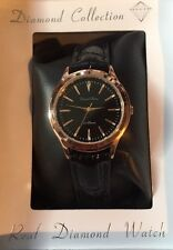 Philip Mercier Genuine Diamond Ladies Rose Gold Plated Watch Dwb08b