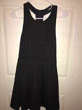 Lulus Little Black Dress Back Zipper Size medium