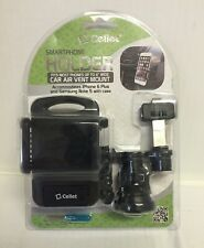 "Cellet Smart Phone Holder Mount 4"" Car Air Vent Mount New & Sealed"