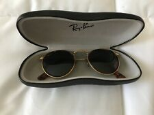 Vintage Ray Ban B&L OVAL Sunglasses gold Sunglasses With case