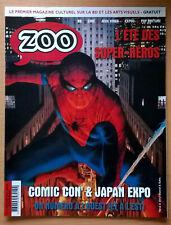 magazine ZOO n° 41 NEUF (bande-dessinée) Comic Con' Spider-man Batman Ivan Reis
