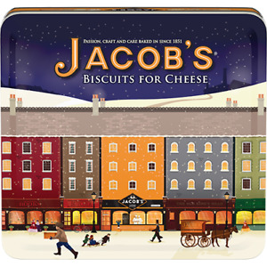 Jacob's Biscuits For Cheese 2 x 300g BB 12/06/2021