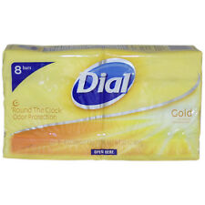 Gold Antibacterial Deodorant Soap by Dial for Unisex - 8 x 4 oz Soap
