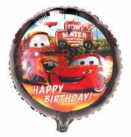 Folienballon Cars Disney Heliumballon Luftballon Ballon Kindergeburtstag