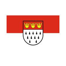 Fahne Köln Flagge ca. 90 x 150 cm - Stadtflagge