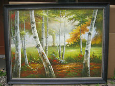LANDSCAPE  AUTUMN   BIRCHES