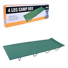 Milestone Camping lit de Camp 4 pieds - Vert