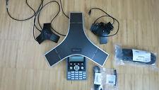 Polycom  Sound Station IP 7000, SIP VoIP-Konferenztelefon + 2 ext. Microfone