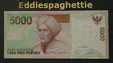 INDONESIA 5000 RUPIAH 2001(2016) UNC P-142p