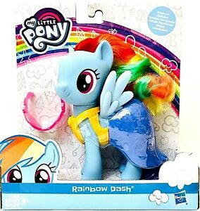 1 Count Hasbro My Little Pony Rainbow Dash Snap On Fashion Pony Age 3 Years & Up